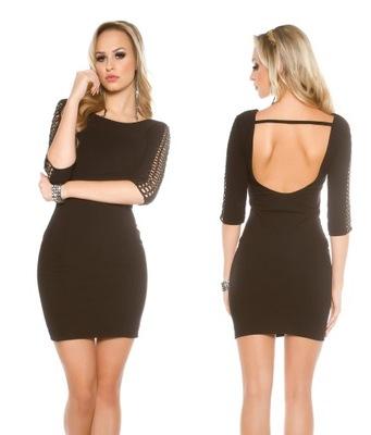 864c10f5c3 Czarna sukienka mini bez rękawów - 7090895827 - oficjalne archiwum ...