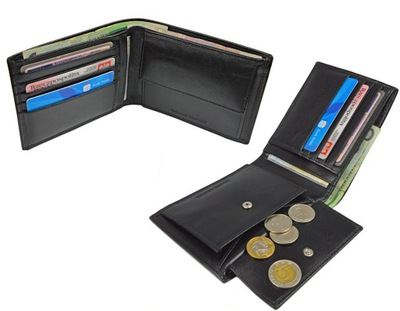 dd8e0957f4e52 Portfel skórzany TOMMY HILFIGER kieszeń na monety 7461368712 ...