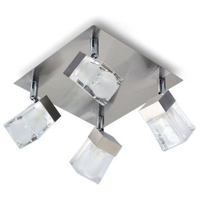 Stropné svietidlo LED bodové STROPNÉ svietidlo G9 RUTH 4