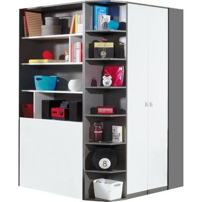 Мебель молодежные шкаф Угловой гардероб табло 1