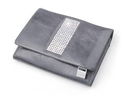 f300ab6480cd9 skórzany portfel damski STEFANIA 012 -T Lwy TURKUS 7706894874 ...
