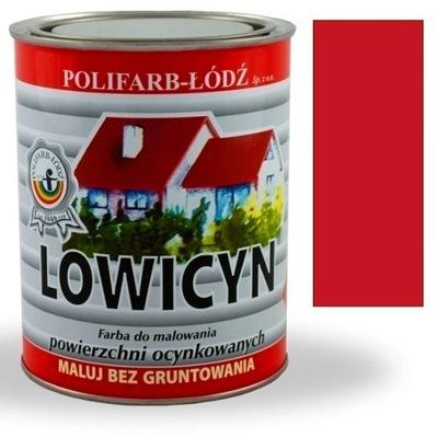 Lowicyn náterov pre strechu zinok kovové mahagón MAT 10 L