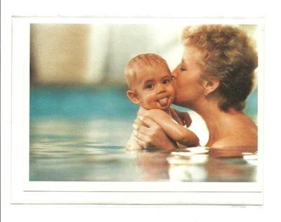 Ски-пасс - Ребенок с няней, то есть Портрет водный ..