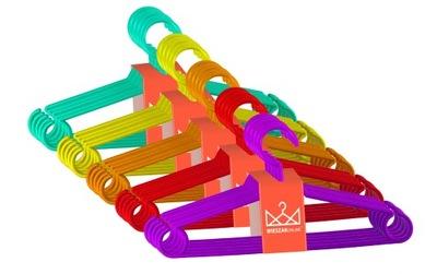 ВЕШАЛКИ для ОДЕЖДЫ детское МАЛЕНЬКИЕ цветные 25 штук