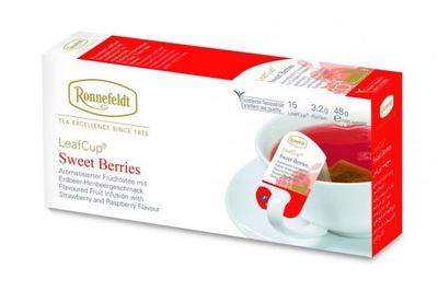 чай Ronnefeldt SWEET BERRIES 15 сумок
