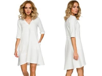 4244 Sukienka bawełniana SELECT elastyczna #21