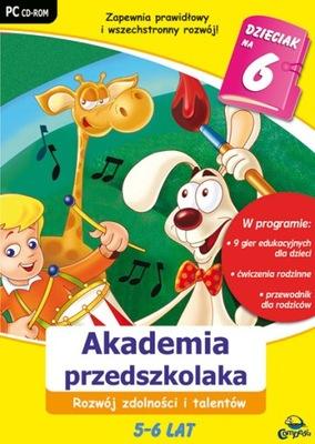 Akademia przedszkolaka - zdolności i talenty