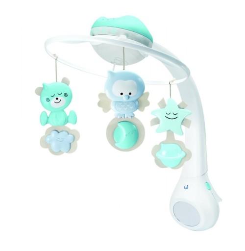 Karuzelka projektor 3w1 niebieska B-kids
