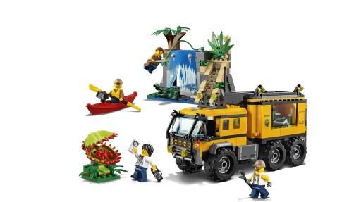 LEGO City Dżungla Mobilne laboratorium 60160