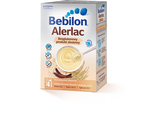 Bebilon Alerlac 400 g BEZGLUTENOWY produkt zbożowy