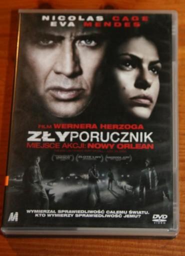 ZŁY PORUCZNIK    DVD