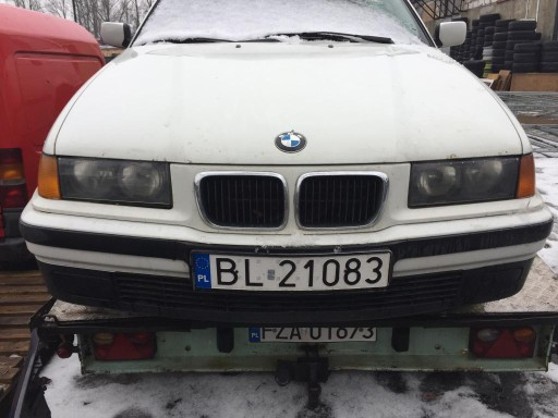BMW E36 listwy zderzaka przod środkowa
