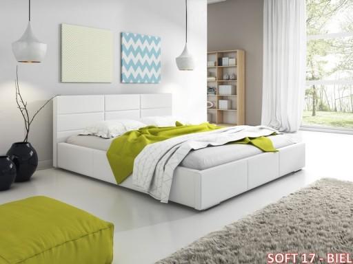 łóżko Sypialniane łóżko Tapicerowane Z Pojemnikiem