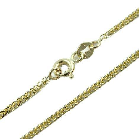 HIT !!! Łańcuszek Złoty pr 585 14k Lisi Ogon 70 cm