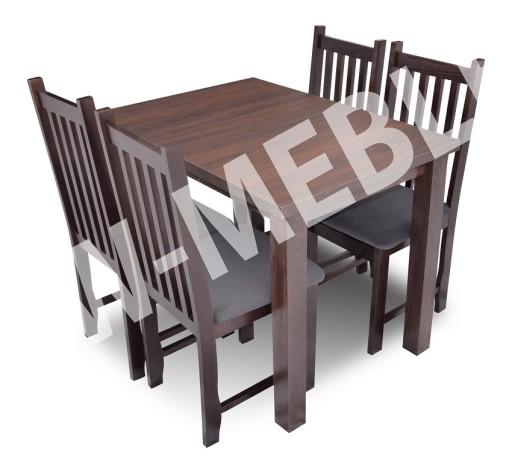 Zestaw BIS-TRALKA Stół + 4 Krzesła HIT CENOWY!!!