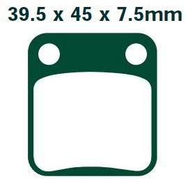 Klocki SUZUKI RM 65 DR TS 125 DF DR 200 LT-A 400