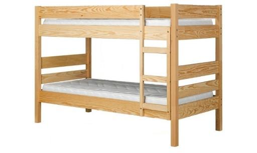 łóżko Piętrowematerace 200x90 Stelaże 2x160 Kg