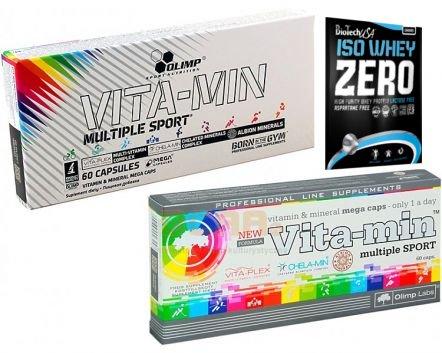 Olimp Vita-Min Multiple Sport 120 kap +próba