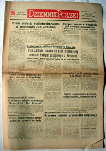 Gazeta Dziennik Polski Nr (4738) 1959r OKAZJA!