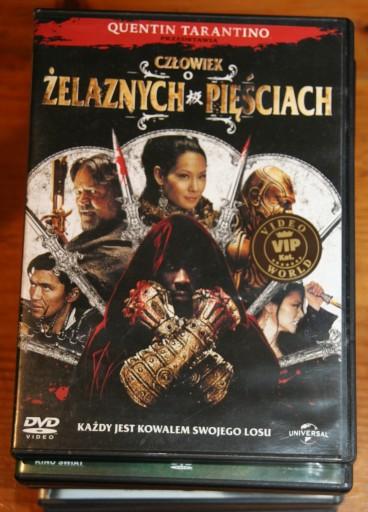 CZŁOWIEK O ŻELAZNYCH PIĘŚCIACH    DVD