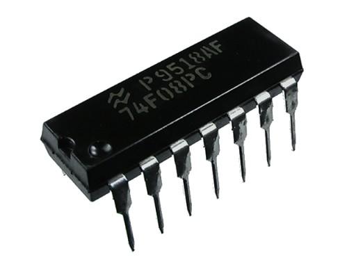 74F08 DIP14 NSC 74F08PC cena za 5szt