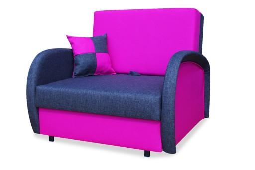 Sofa Amerykanka Zuzia Fotel Rozkładany Pojemnik