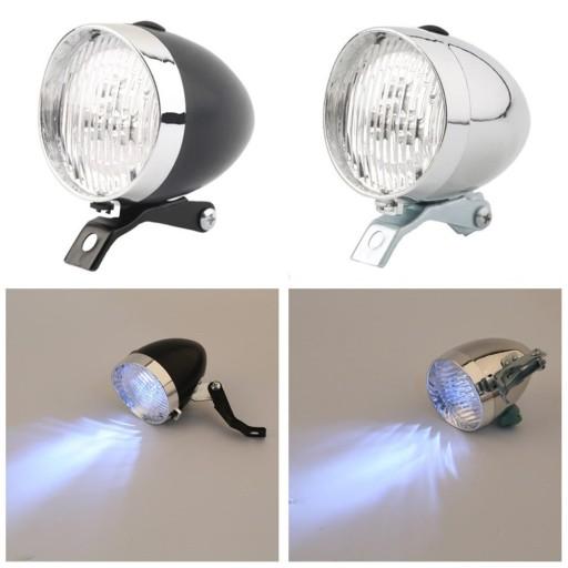 Lampa Lampka Rowerowa Przednia Retro Led Xenon 6659673833 Allegro Pl