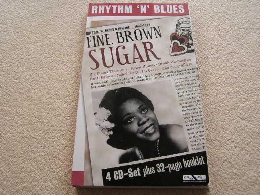 RHYTHM 'N' BLUES - FINE BROWN SUGAR [BOX 4CD].50