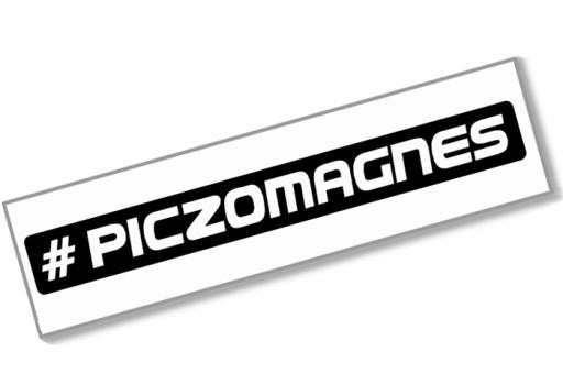 #PICZOMAGNES - Naklejka 20cm - piczo magnes funny 7724066414