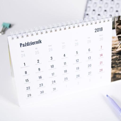 Fotokalendarz настольный 25x12 с Вашей фотографией