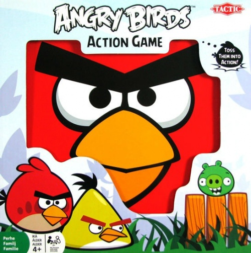 Tactic Gra Angry Birds Action Game Giant 40511 6017656605 Allegro Pl