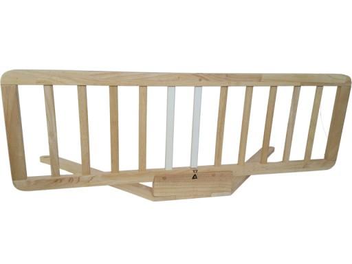 Barierka Bramka Ochronna Blokada łóżka Maha 100x38