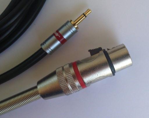 IMG kabel  mini Jack mono / XLR  żeński 3P    4m