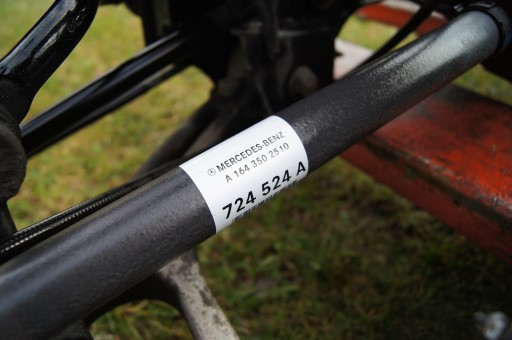 MERCEDES R ML 164 GL CDI 350 PÓŁOŚ TYŁ 1643502510