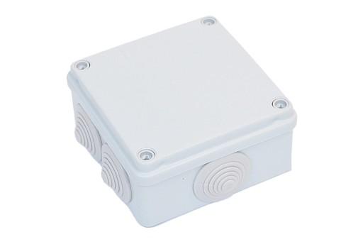 PUSZKA HERMETYCZNA BOX106 100x100x50 IP55+dławiki