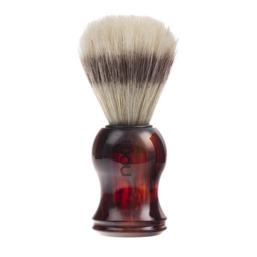 Muhle - NOM pędzel do golenia bursztynowy