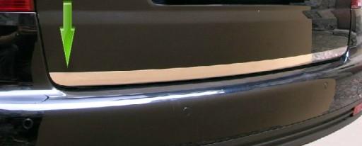 BMW-SERIE 7 (E38) NAUJAS MOLDINGAS CHROMAS BAGAZINES DANGTIS BAGAZINES