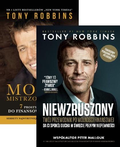 2x Robbins MONEY MISTRZOWSKA GRA + NIEWZRUSZONY