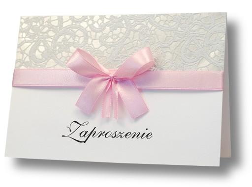 Zaproszenia ślub Chrzest 18 Urodziny Osiemnastkę 6854018253 Allegropl
