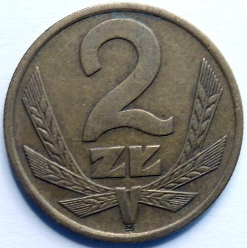 Moneta 2 zł złote 1978 r zm ładna