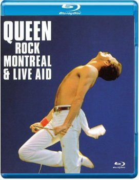 QUEEN ROCK MONTREAL & LIVE AID BLU-RAY blu-max