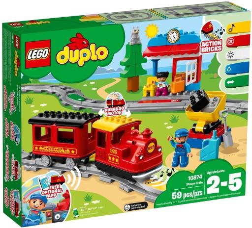 Lego Duplo Pociąg Parowy 10874 7325108340 Allegropl