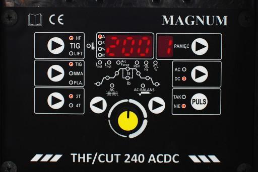 Spawarka MAGNUM THF CUT 240 TIG AC/DC ZESTAW