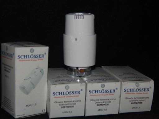 SCHLOSSER głowica termostatyczna M30X1,5 PURMO itp