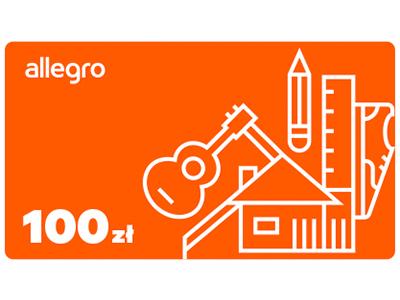 Karta Podarunkowa Allegro 100 Zl 5838137663 Allegro Pl