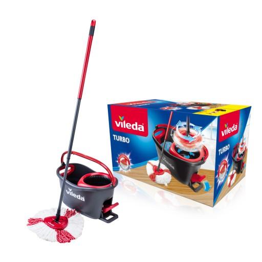 Mop obrotowy Vileda TURBO Easy Wring & Clean