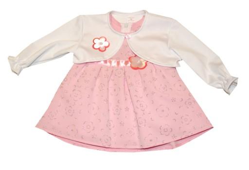 707d041b7c Komplet sukienka z bolerkiem MASIO - rozmiar 98 7345782073 - Allegro.pl