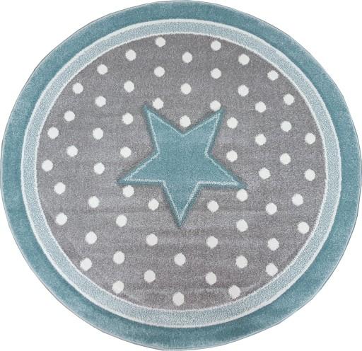 Dywan Forkids 3d Okrągły 120 Gwiazda Gwiazdka 7588507779 Allegropl