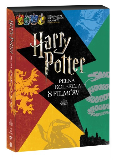 Harry Potter Pelna Kolekcja 8 Filmow Es Dvd Pl 8665109454 Allegro Pl