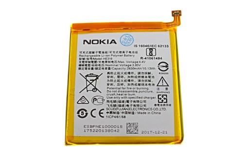 Oryginalna Bateria Nokia 3 Dual Sim Ta 1032 He319 7487857033 Sklep Internetowy Agd Rtv Telefony Laptopy Allegro Pl